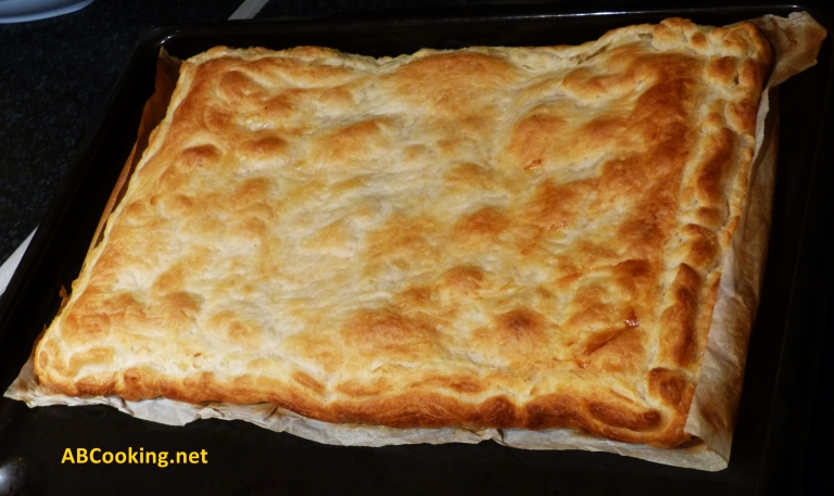 seafood pie - calzone pugliese